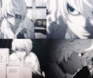 near, anime, and death note image