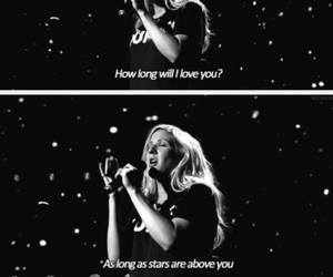 Ellie Goulding, song, and love image