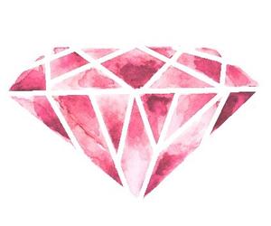 diamond and pink image