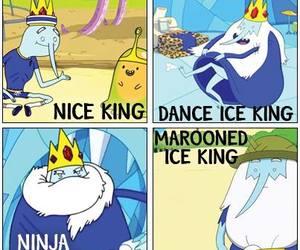 adventure time, ice king, and nice king image
