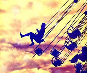 sky, fun, and fly image