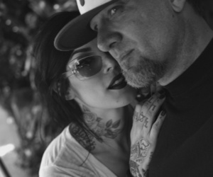 couple, kat von d, and tattoo image