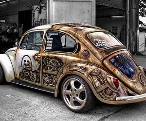car and steampunk image