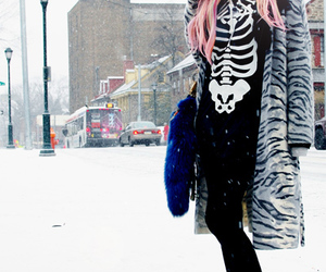 audrey kitching and pink hair image