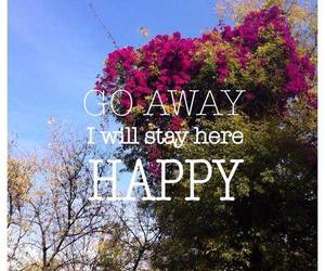 away, happy, and yes image
