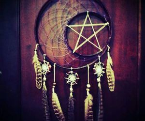 star and dreamcatcher image