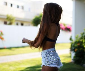 summer, shorts, and fashion image