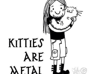 metal, kitty, and cat image
