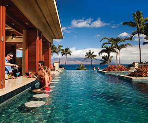 pool, summer, and bar image