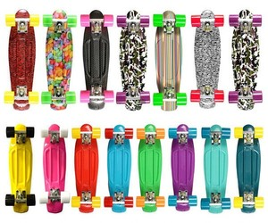 bright, colorful, and pennyboard image
