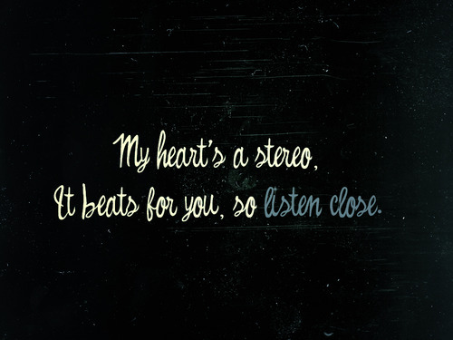Stereo Hearts <3 shared by Nells on We Heart It