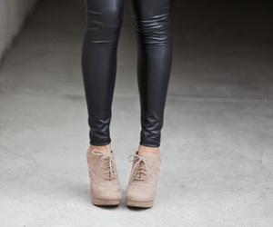 black, blogger, and booties image