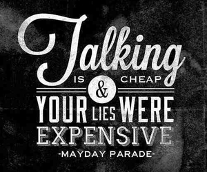 mayday parade and Lyrics image