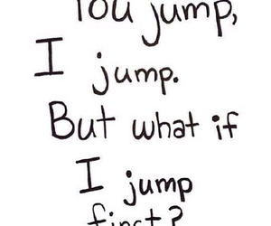 jump and quote image