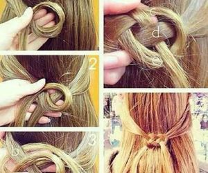 hair and arranged image