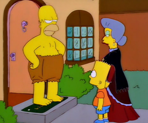 funny, homer, and homer simpson image