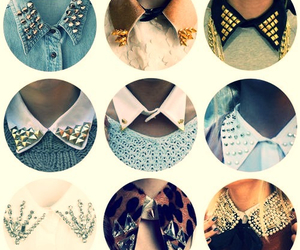 fashion, collar, and studs image