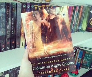 books, the mortal instruments, and love image