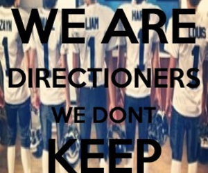 dont keep calm, directioner, and one direction image