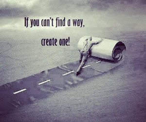 create, find, and life image