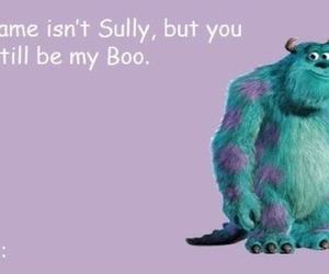 boo, monsters inc, and valentine image