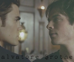 brothers, damon, and salvatore image