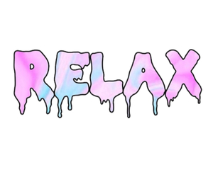 relax, transparent, and overlay image