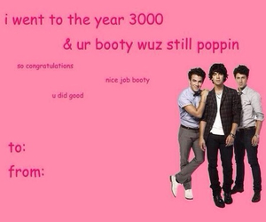 funny, jonas brothers, and valentines day image