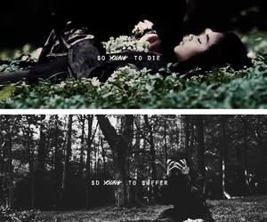 rue, katniss everdeen, and the hunger games image