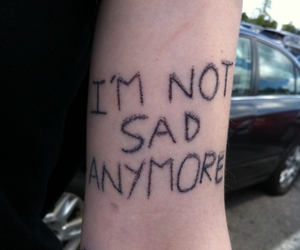 sad, pale, and quote image