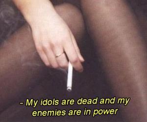 cigarette, grunge, and soft image