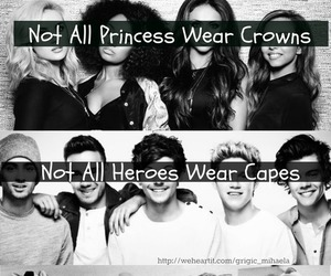 one direction, 5sos, and little mix image