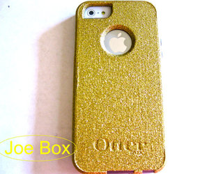 glitter, gold, and iphone case image