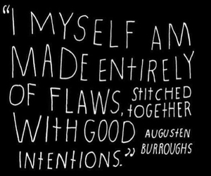 quotes, flaws, and myself image