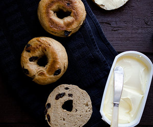bagel, bagels, and bread image