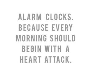morning, alarm, and clock image