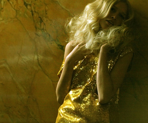 blonde, gold, and sexy image