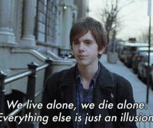 alone, quote, and illusion image