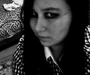 black & white, rambo13, and black hairs image